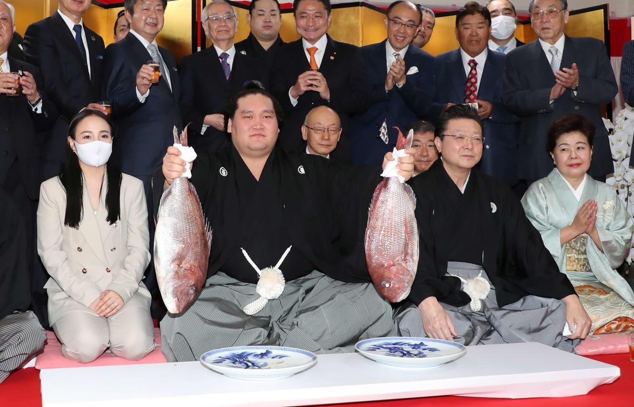 promotion ozeki, terunofuji